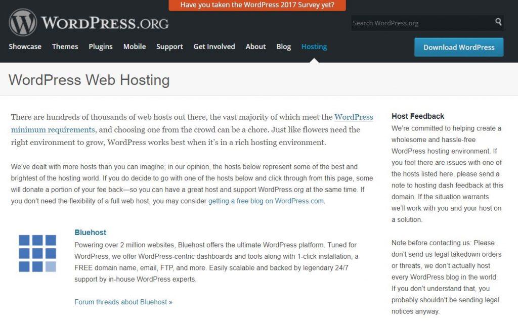 Bluehost Erfahrung WordPress